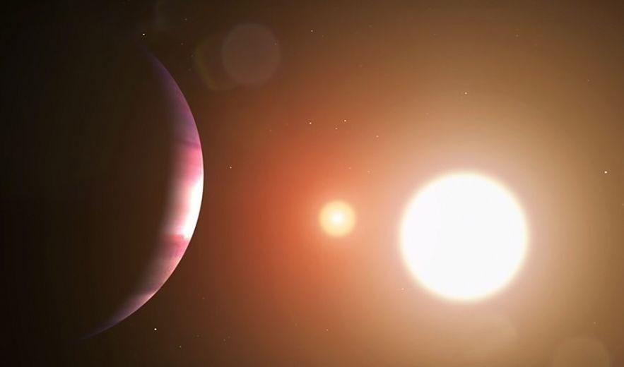 شاب في الـ 17 من عمره يكتشف كوكبا يدور حول نجمين